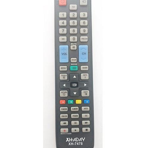 Controle remoto TV SAMSUNG BN5901020A  XH7478  7957