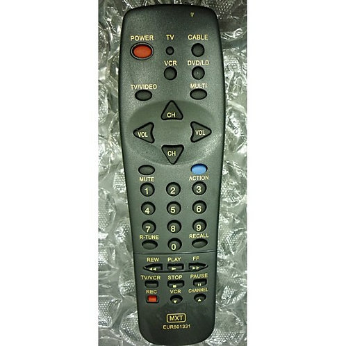 Controle remoto TV PANASONIC MOD EUR 501331  CT13R12T  CT13R12T2  CT13R22