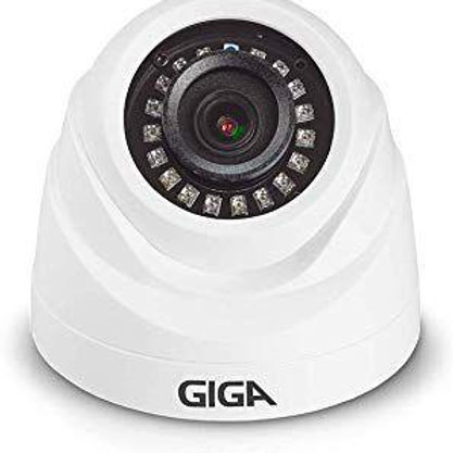 CAMERA GIGA IP DOME METAL OPEN HD PLUS 720P 1 MEGAPIXELS ALCANCE IR 30M 1/4 2.6M