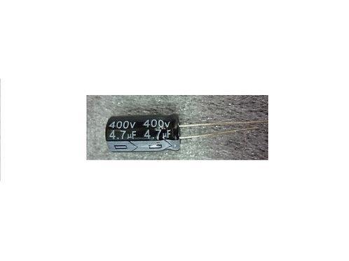 Capacitor Eletrolitico 47uf x 400V  105