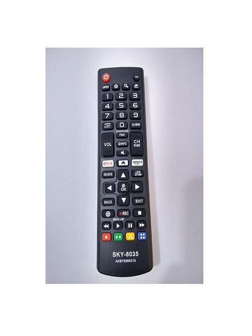 Controle Remoto TV LG Smart Netflix 3d AKB75095315 SKY-8035 1ªLINHA