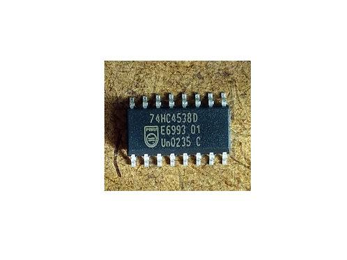 Circuito integrado 74HC4538D SMD 16 pinos original