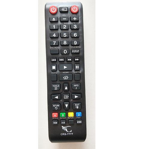 Controle remoto DVD  Bluray Samsung Crs7777   Ak5900149a Varios modelos