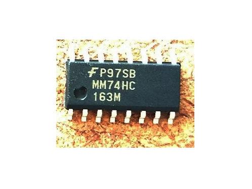 Circuito integrado MM74HC163M SMD 16 pinos original