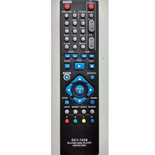 Controle Remoto Bluray LG Akb73215301  Bd530  Bd550  SKY7459