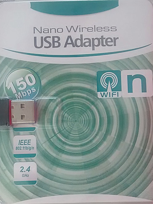 Adaptador Wireless USB 150Mbps Nano