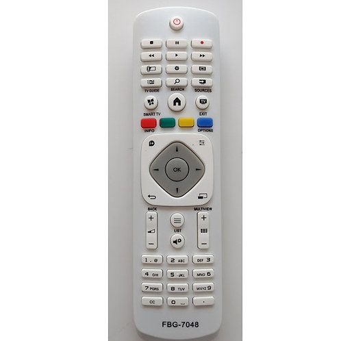 Controle Remoto  LCD Smart TV PHILIPS FBG7048  Branco  398gr8iba1  40pfg630978