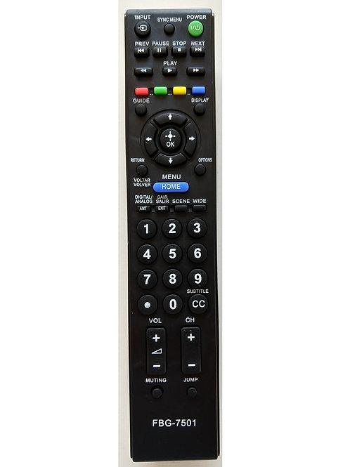 Controle Remoto TV Sony Bravia RMYD081  FBG7501  7012
