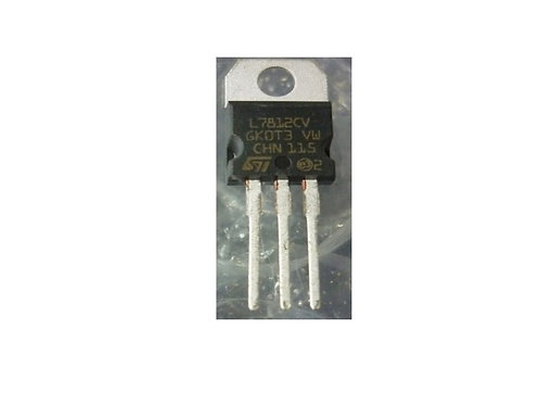 Circuito integrado regulador L7812 original