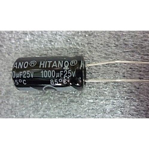 Capacitor Eletrolitico 1000uf x 25V  85