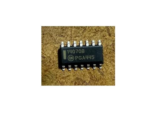 Circuito integrado 14070B SMD 14 pinos original
