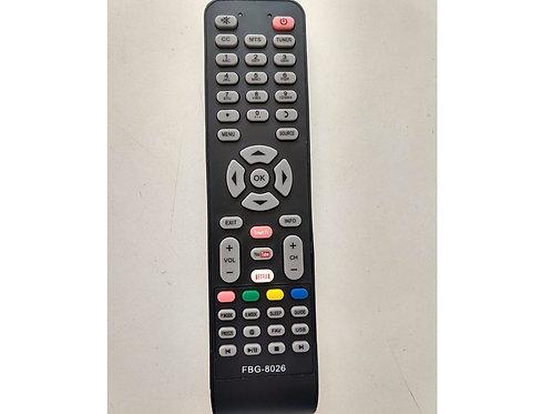 Controle remoto TV LED SEMP  TOCHIBA FBG8026