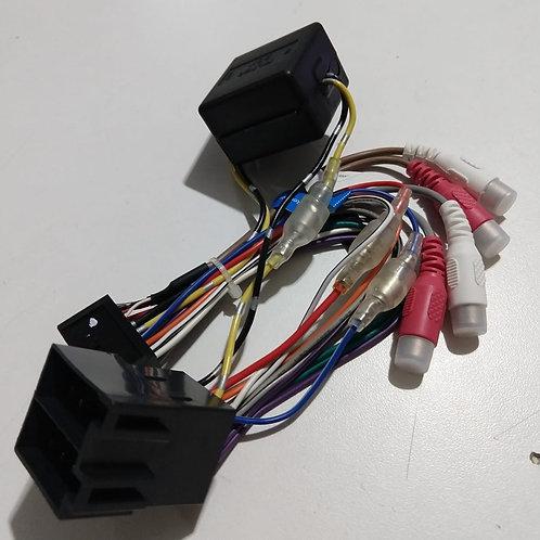 Cabo chicote rabicho auto radio DVD Pionner Original  Mod DVH7380  7580