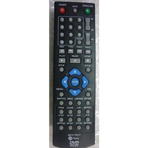 Controle remoto DVD TECTOY SKY7917 Orig  MODC101  C100  F250  F251