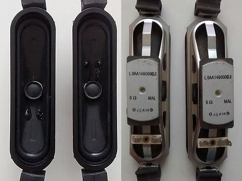 Alto falante TV 32 LCD Panasonic TC32C10B  8ohms  codigo LOAA14B00002 par