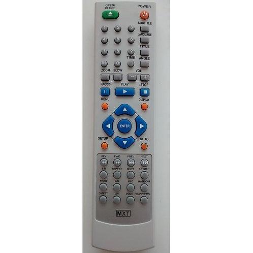 Controle Remoto  DVD CCE ModModelos DVD600X  DVD600XB  DVD600DVX   DVD603DVX