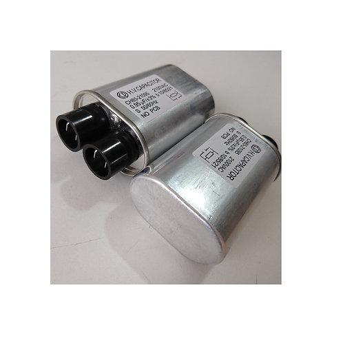 Capacitor de alta microondas 0.95UF x 2100v 2 terminal largo