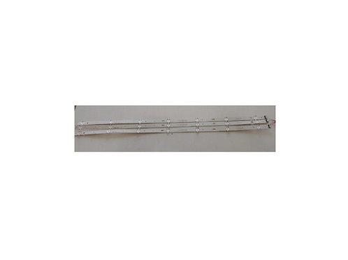 kIT com 3 barras de leds TV LG 43LJ5550 codLC43490058A  Usada