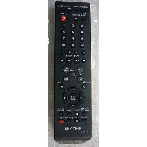 Controle remoto DVD LG COM GRAVADOR MODDvd R130  DvdR150  DVDP185