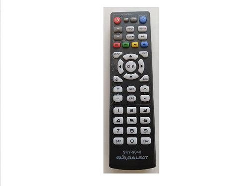 Controle Remoto Receptor Globalsat GS130  Importado SKY-9040