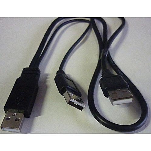 Cabo USB 20 Y para HD externo 1 SUB macho 20