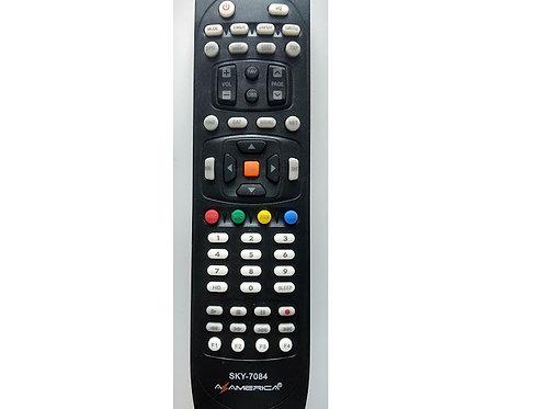 Controle remoto Receptor Azamerica SKY7084  7037  Mod S1007