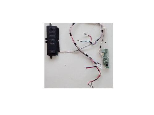 Teclado com placa e sensor com placa TV Panasonic 32 LCD TC32C10B  cod TNPA5001