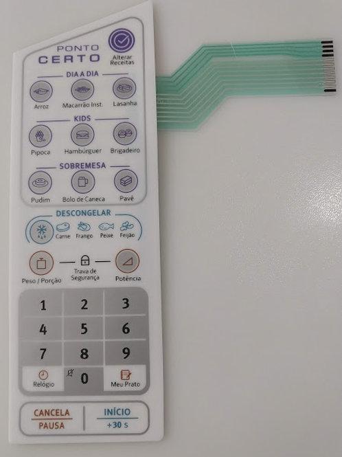 Membrana Microondas Eletrolux Mod MEP 41  MEP41