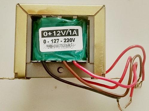 Transformador Forca  012V 1A 110  220V AC  Marca Gilson