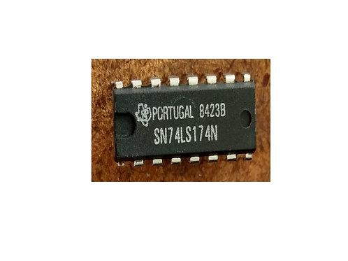 Circuito integrado SN74LS174N 16 pinos original