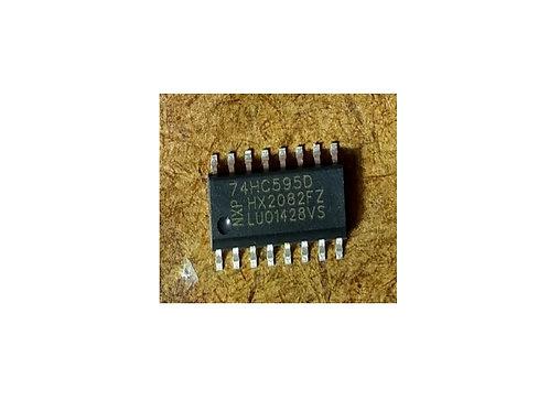 Circuito integrado 74HC595D SMD 16 pinos original