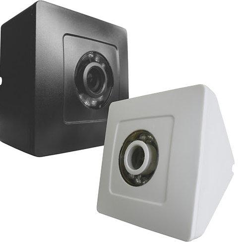Camera  triangular  1/4 420l ccd color branca - MUCMO235