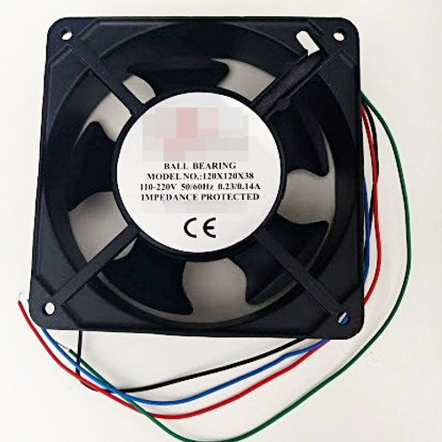 Ventilador  cooler 120 X 120 X 38mm  110  220V 5060HZ 023014A