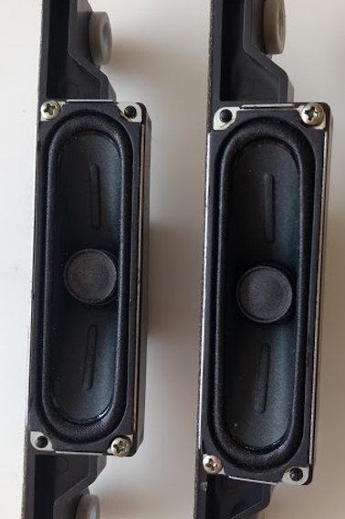 Alto falante TV Samsung PL43E400U1G  6ohms  codigo B22G09BJ02 PAR