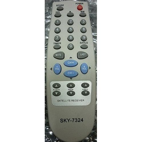 Controle Remoto Receptor Parabolica VISIONTEC VT 1000 S300 5002000  VT700