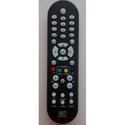 Controle Remoto Receptor NET Digital hd black Original