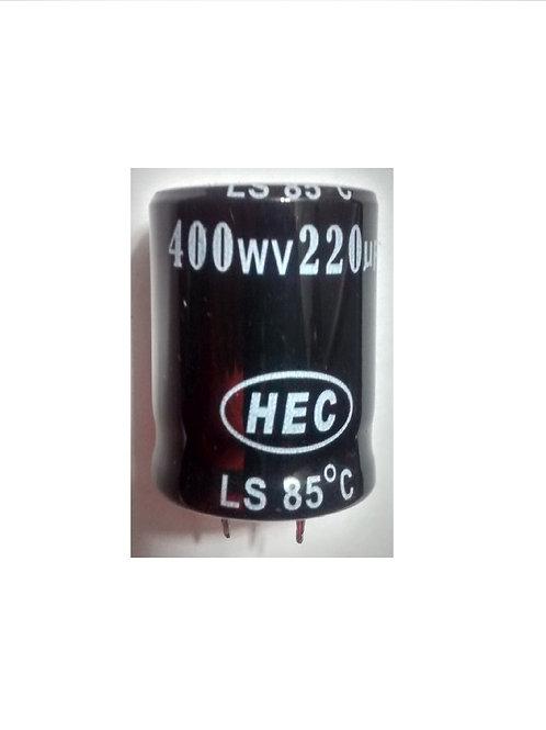 Capacitor Eletrolitico 220UF X 400V  85