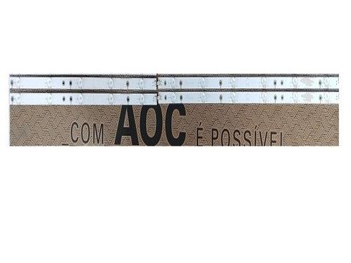 Barras de leds com 2  R  L  TV AOC LE50D1452