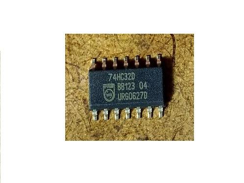 Circuito integrado 74HC32D SMD 14 pinos original