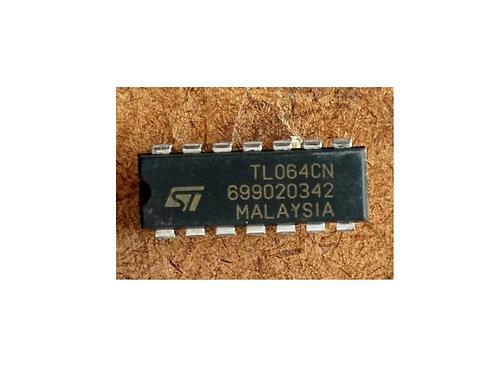 Circuito integrado TL064CN 14 pinos original