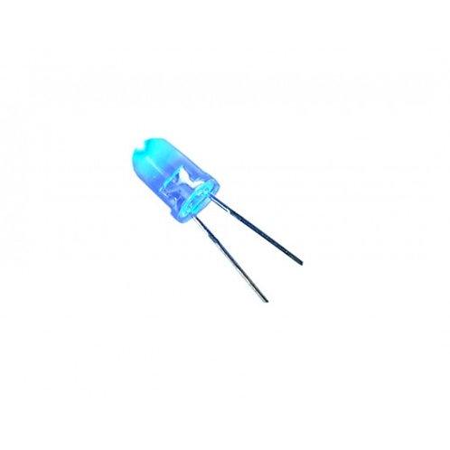 Led Diodo 5mm  12V decorativo Azul 10000MCD