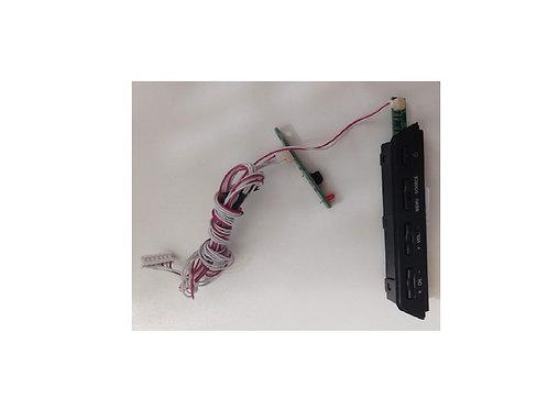 Teclado  placa de sensor TV Philco PH32F33DG