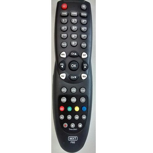 Controle Remoto Receptor Digital Azamerica F92 HD