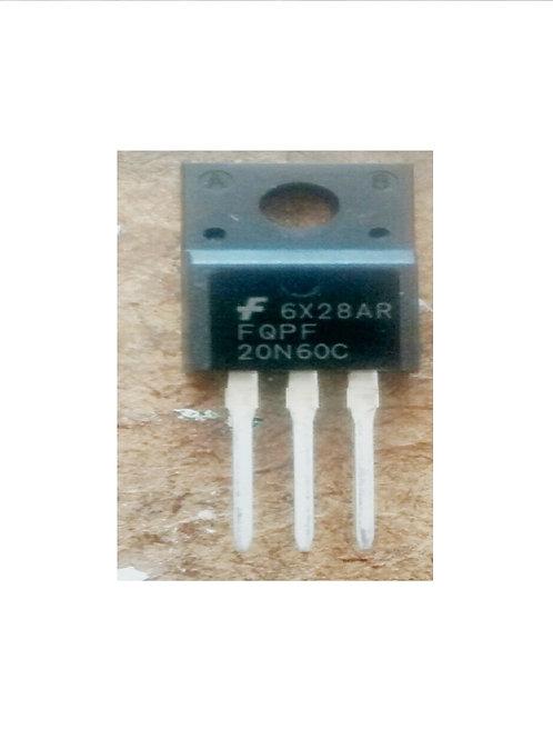 Transistor FQPF20N60  20N60 Pequeno ensolado Original