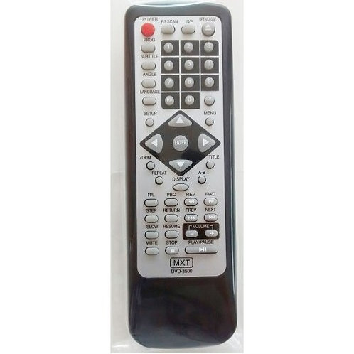 Controle remoto DVD NKS DVD3500