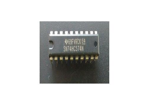 Circuito integrado 74HC574N 20 pinos original