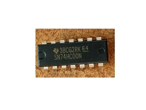 Circuito integrado SN74HC00N 7 pinos original