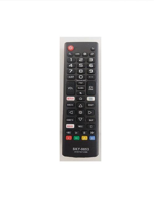 Controle Remoto TV LG Smart Netflix / Prime / Amazona - Vidio TV 43LK5750  AKB75