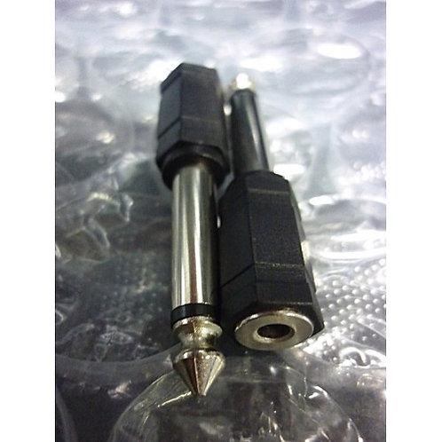 Plug Adaptador Jack J2 mono  P10 mono