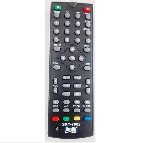 Controle Remoto  Receptor digital  conversor digital Bedin sat SKY7002